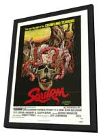 Squirm - 11 x 17 Movie Poster - Style B - in Deluxe Wood Frame