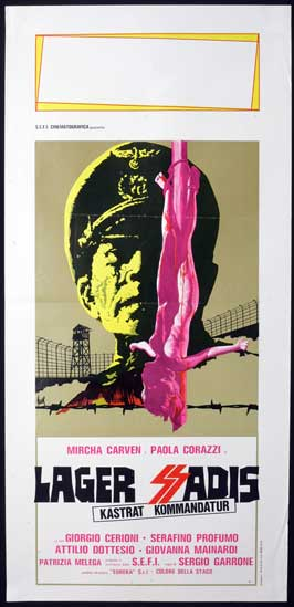 SS Experiment Love Camp - 13 x 28 Movie Poster - Italian Style A