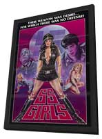 SS Girls - 27 x 40 Movie Poster - Style A - in Deluxe Wood Frame