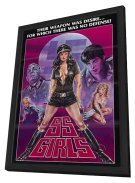 SS Girls - 11 x 17 Movie Poster - Style A - in Deluxe Wood Frame
