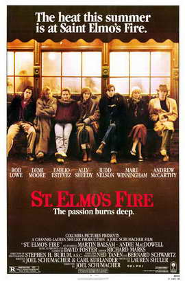 St. Elmo's Fire - 11 x 17 Movie Poster - Style A