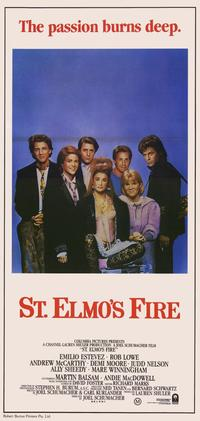 St. Elmo's Fire - 11 x 17 Movie Poster - Australian Style A