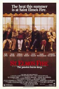 St. Elmo's Fire - 43 x 62 Movie Poster - Bus Shelter Style A