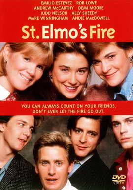 St. Elmo's Fire - 11 x 17 Movie Poster - Style B