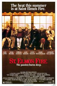 St. Elmo's Fire - 11 x 17 Movie Poster - Style A - Museum Wrapped Canvas
