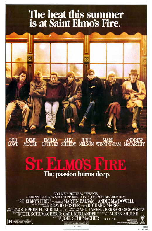St. Elmo's Fire Movie Posters 1985