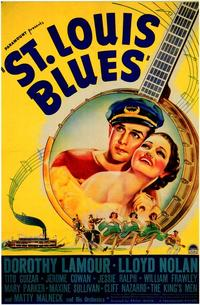 St. Louis Blues - 27 x 40 Movie Poster - Style A
