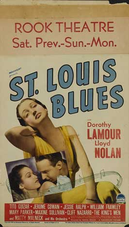 St. Louis Blues - 11 x 17 Movie Poster - Style B