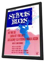 St. Louis Blues - 11 x 17 Movie Poster - Style A - in Deluxe Wood Frame