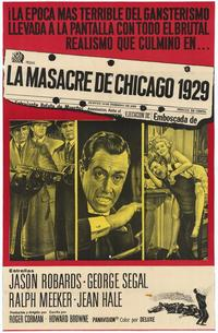 The St. Valentine's Day Massacre - 11 x 17 Movie Poster - Style A