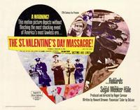 The St. Valentine's Day Massacre - 11 x 14 Movie Poster - Style A