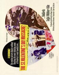 The St. Valentine's Day Massacre - 22 x 28 Movie Poster - Half Sheet Style A