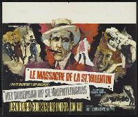 The St. Valentine's Day Massacre - 27 x 40 Movie Poster - Belgian Style A