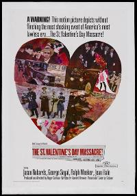 The St. Valentine's Day Massacre - 27 x 40 Movie Poster - Style B