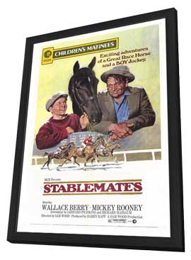 Stablemates - 11 x 17 Movie Poster - Style A - in Deluxe Wood Frame