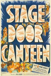 Stage Door Canteen - 27 x 40 Movie Poster - Style A