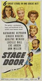 Stage Door - 20 x 40 Movie Poster - Style A