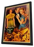 Stage Door - 11 x 17 Movie Poster - Style C - in Deluxe Wood Frame