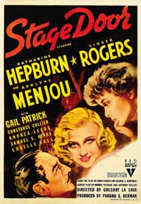 Stage Door - 27 x 40 Movie Poster - Style B