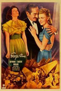 Stage Door - 11 x 17 Movie Poster - Style C