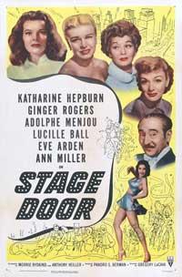 Stage Door - 27 x 40 Movie Poster - Style C