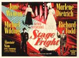 Stage Fright - 11 x 14 Movie Poster - Style M