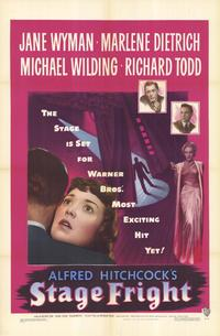 Stage Fright - 27 x 40 Movie Poster - Style A