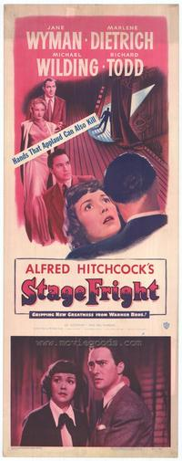 Stage Fright - 14 x 36 Movie Poster - Insert Style A