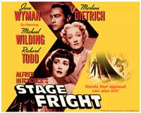 Stage Fright - 11 x 14 Movie Poster - Style B