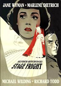 Stage Fright - 27 x 40 Movie Poster - Style B