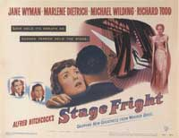Stage Fright - 22 x 28 Movie Poster - Half Sheet Style A