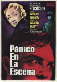Stage Fright - 11 x 17 Movie Poster - Spanish Style A