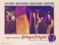 Stage Fright - 11 x 14 Movie Poster - Style E