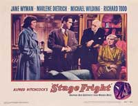 Stage Fright - 11 x 14 Movie Poster - Style F