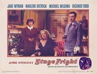 Stage Fright - 11 x 14 Movie Poster - Style I