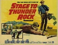 Stage to Thunder Rock - 11 x 14 Movie Poster - Style A