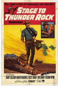Stage to Thunder Rock - 11 x 17 Movie Poster - Style A