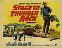 Stage to Thunder Rock - 22 x 28 Movie Poster - Half Sheet Style A