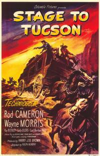 Stage to Tucson - 11 x 17 Movie Poster - Style A