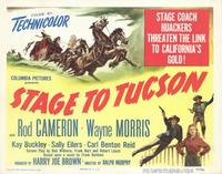 Stage to Tucson - 11 x 14 Movie Poster - Style A
