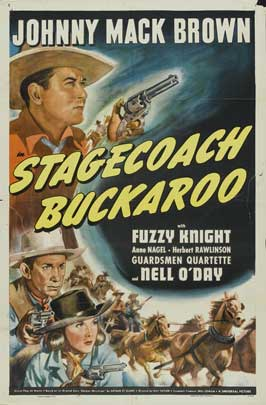Stagecoach Buckaroo - 11 x 17 Movie Poster - Style A