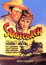 Stagecoach - 11 x 17 Movie Poster - Style E