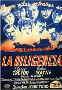 Stagecoach - 11 x 17 Movie Poster - Spanish Style A