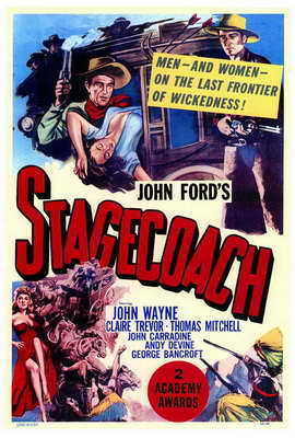 Stagecoach - 27 x 40 Movie Poster - Style A