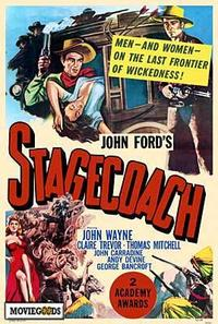 Stagecoach - 43 x 62 Movie Poster - Bus Shelter Style A
