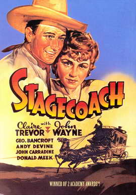 Stagecoach - 27 x 40 Movie Poster
