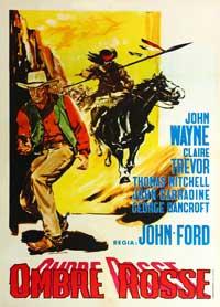 Stagecoach - 11 x 17 Movie Poster - Italian Style B