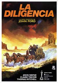Stagecoach - 27 x 40 Movie Poster - Spanish Style B