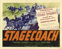 Stagecoach - 11 x 17 Movie Poster - Style J