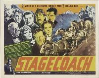 Stagecoach - 11 x 17 Movie Poster - Style K